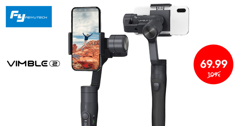JÕULUKINGIIDEE: FeiyuTech Vimble 2 gimbal nutitelefonile ainult 69,99€