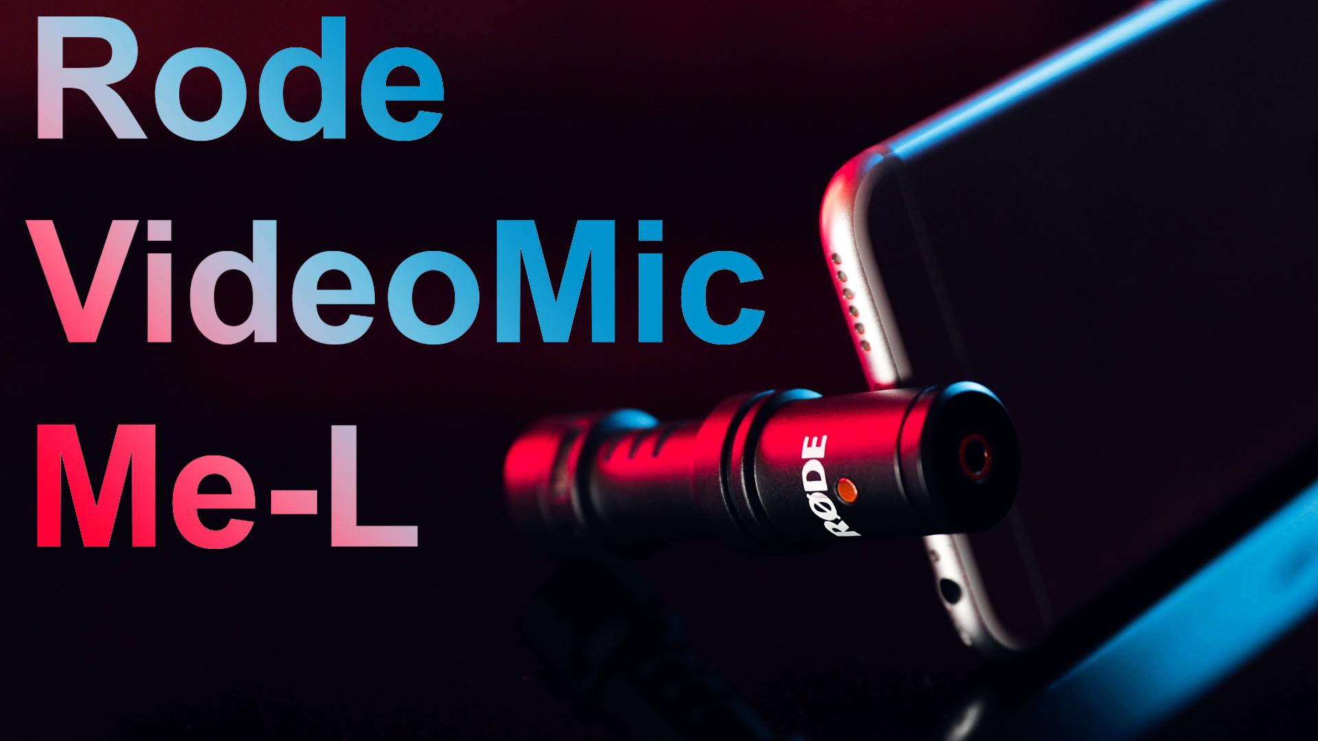 Vaata videot: Rode VideoMic Me-L mikrofoni ülevaade ja test