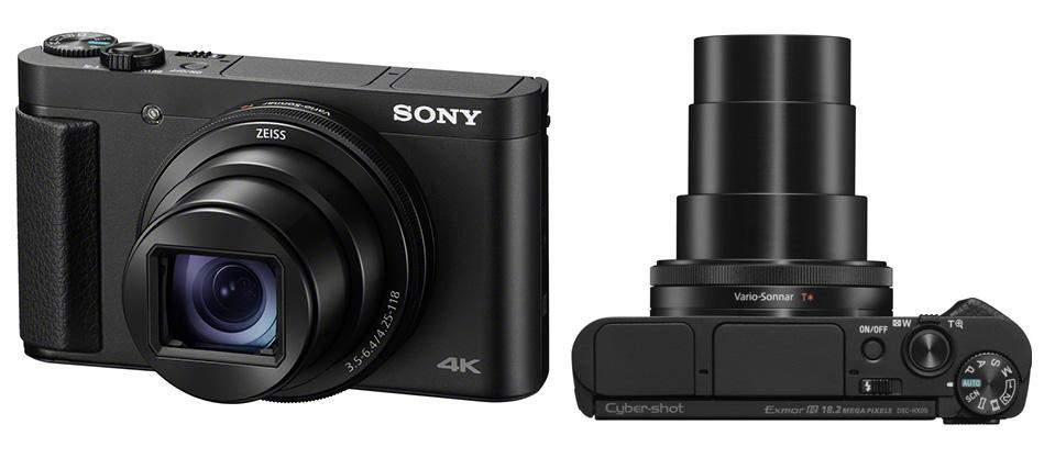Nüüd saadaval: võimsa suumiga kompaktkaamera Sony HX99