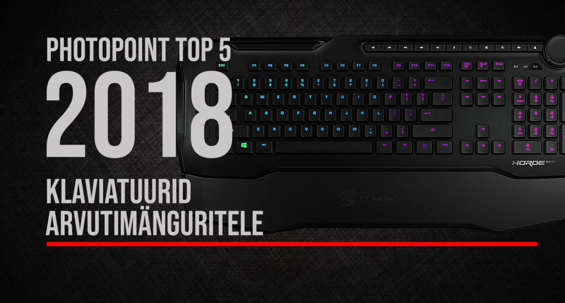 Photopointi TOP 5 – enim ostetud arvutimängurite klaviatuurid