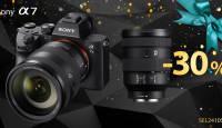 Osta mistahes Sony a7 täiskaader ja valitud Sony objektiiv on 30% soodsam