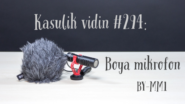 Kasulik vidin #294: Boya mikrofon BY-MM1