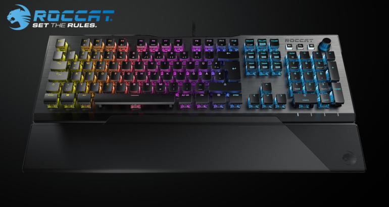 Digitest.ee: Teraapilise toimega Roccat Vulcan 120 Aimo klaviatuur