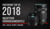 Need on Photopointi 2018. aasta ostetumad objektiivid hübriidkaameratele