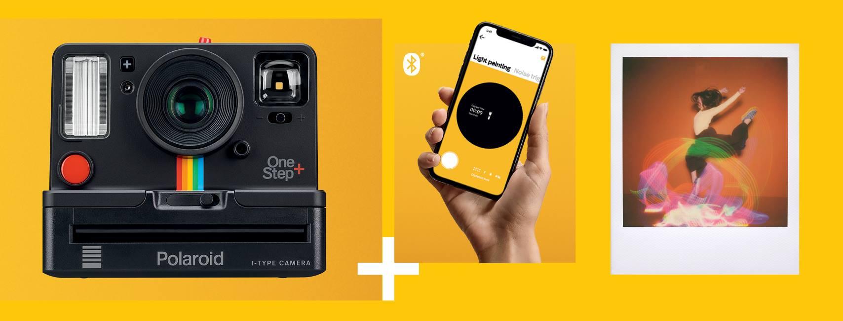 Nüüd saadaval rohkete võimalustega Polaroid OneStep+ kiirpildikaamera