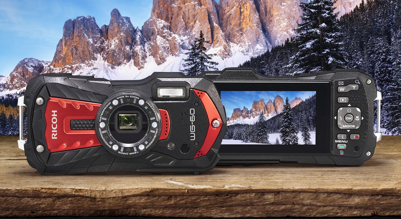 Nüüd saadaval: vee- ja põrutuskindel kompaktkaamera Ricoh WG-60