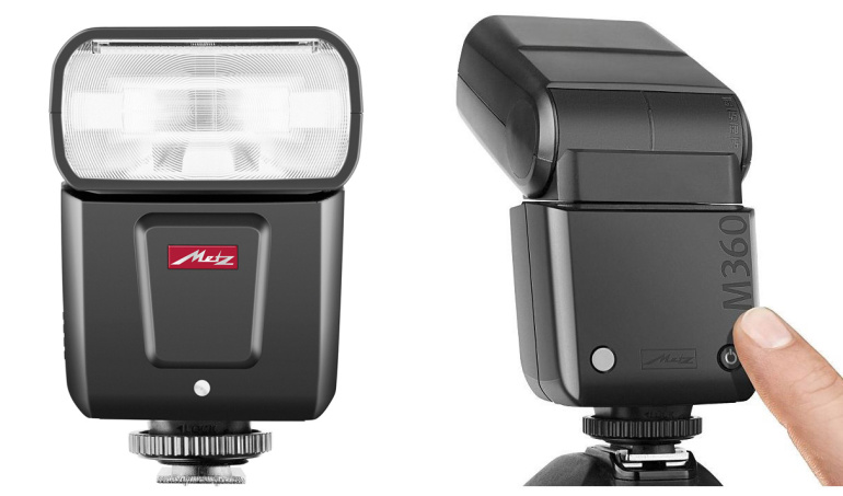 Metz Mecablitz M360 on pisike, paindlik ja soodne välklamp hübriid- ja peegelkaameratele