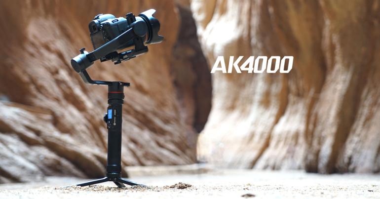 Soodushinnaga FeiyuTech AK4000 ostul saad kingituseks Summon+ kaamera ja Follow Focuse
