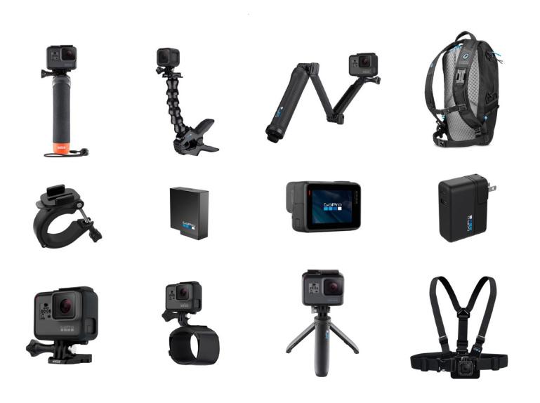 Kuidas ja milliseid lisatarvikuid valida GoPro kaamerale?