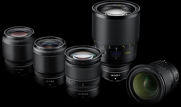 Nikon lubab oma hübriidkaameratele pooleteise aasta jooksul valmis teha 12 uut objektiivi