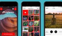 Vali fotod ja alusta - valminud on PhotoExpress Online äpp iOS ja Android seadmetele