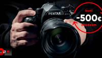 Vaheta enda vana Pentax digipeegel täiskaadersensoriga Pentax K-1 II vastu