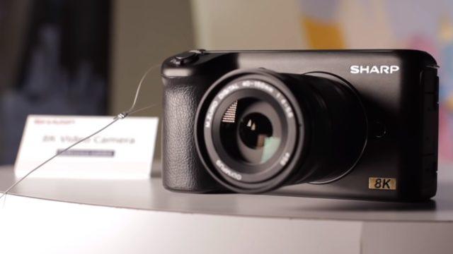 Sharp tõotab videokaamerate turule tulla 8K kaameraga