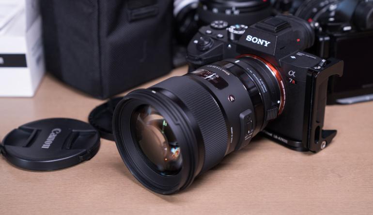 Sigma MC-11 adapter ja 7 objektiivi said tarkvarauuenduse