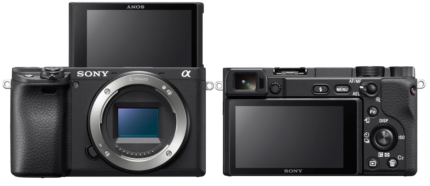 Sony a6400 hübriidkaamera toob silmatuvastusega jälgiva teravustamise ja time-lapse videod