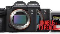 Mälukaart ei toimi Sony A7 III või Sony A7R III hübriidkaameraga? Siin on tarkvarauuendus, mis asja parandab