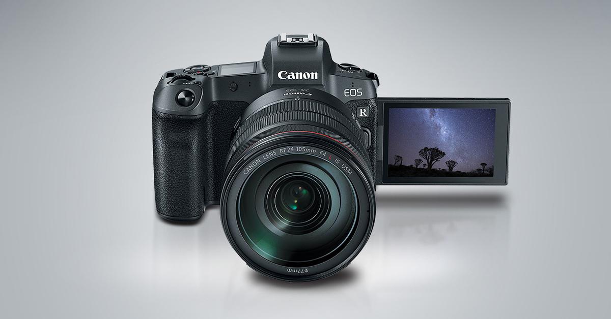 Canon EOS R tarkvarauuendus teeb pildistamise veelgi vaiksemaks