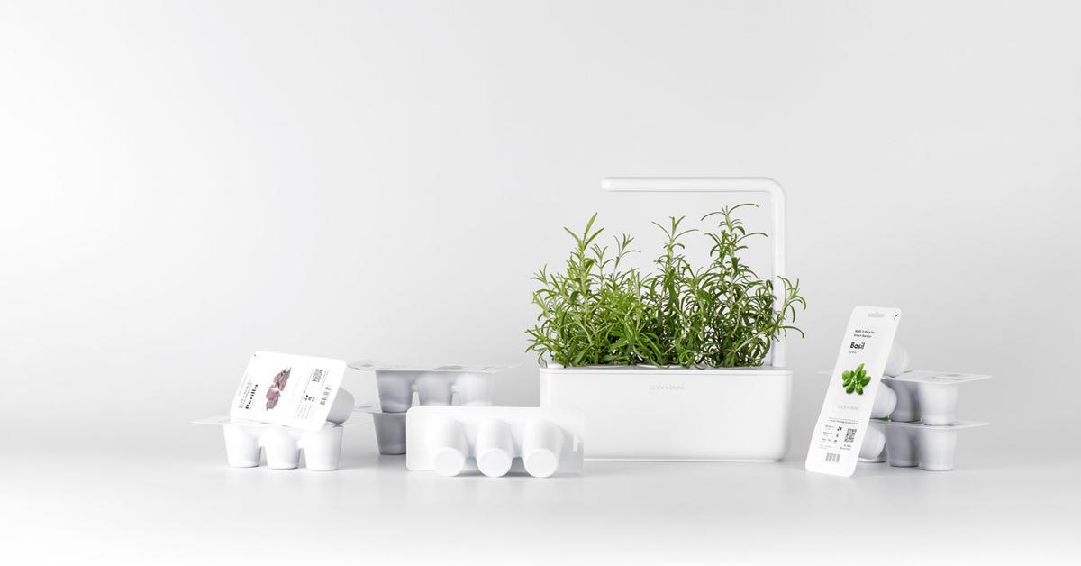 Uute Click and Grow taimekapslitega tood lauale veelgi rohkem maitset