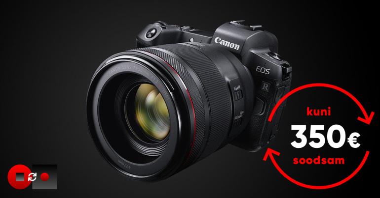 Saada vana digikaamera pensionile ja võta kasutusele revolutsioonile Canon EOS R