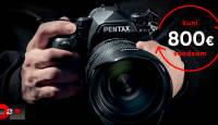 Saada enda vana Pentax digipeegel pensionile ja võta asemel Pentax K-1 II