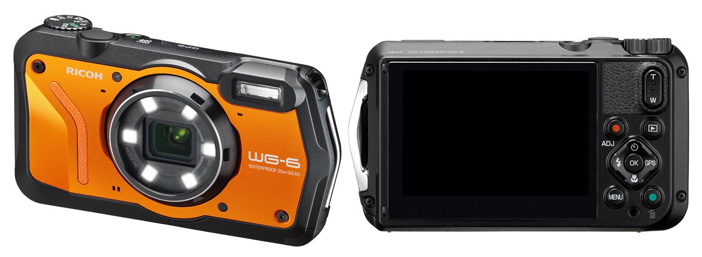 Nüüd saadaval: vee ja põrutuskindel Ricoh WG-6 kompaktkaamera