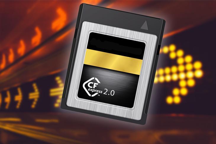 CFexpress 2.0 mälukaardid tulevad kolmes erinevas variandis