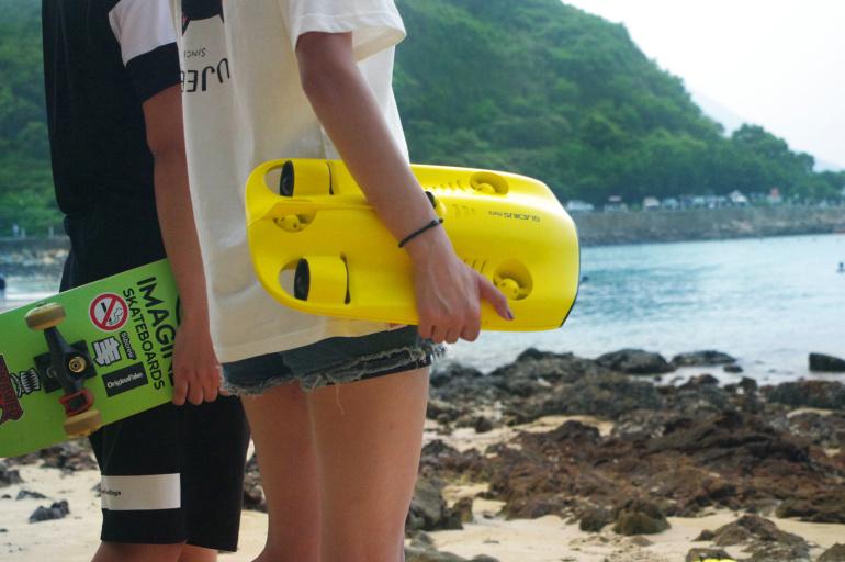 Avasta Gladius Mini sukeldrooni abil...