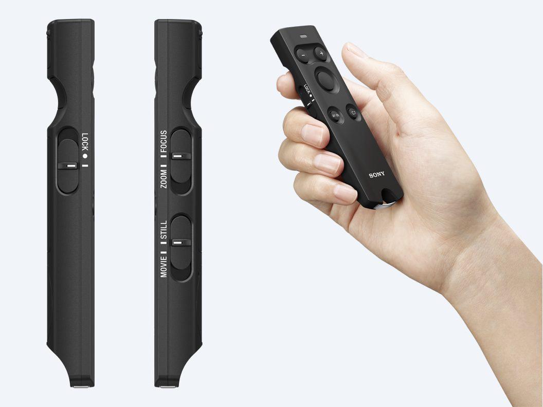 Sony hübriidkaamerate uus juhtpult teravustab, suumib ja pildistab Bluetooth ühenduse abil