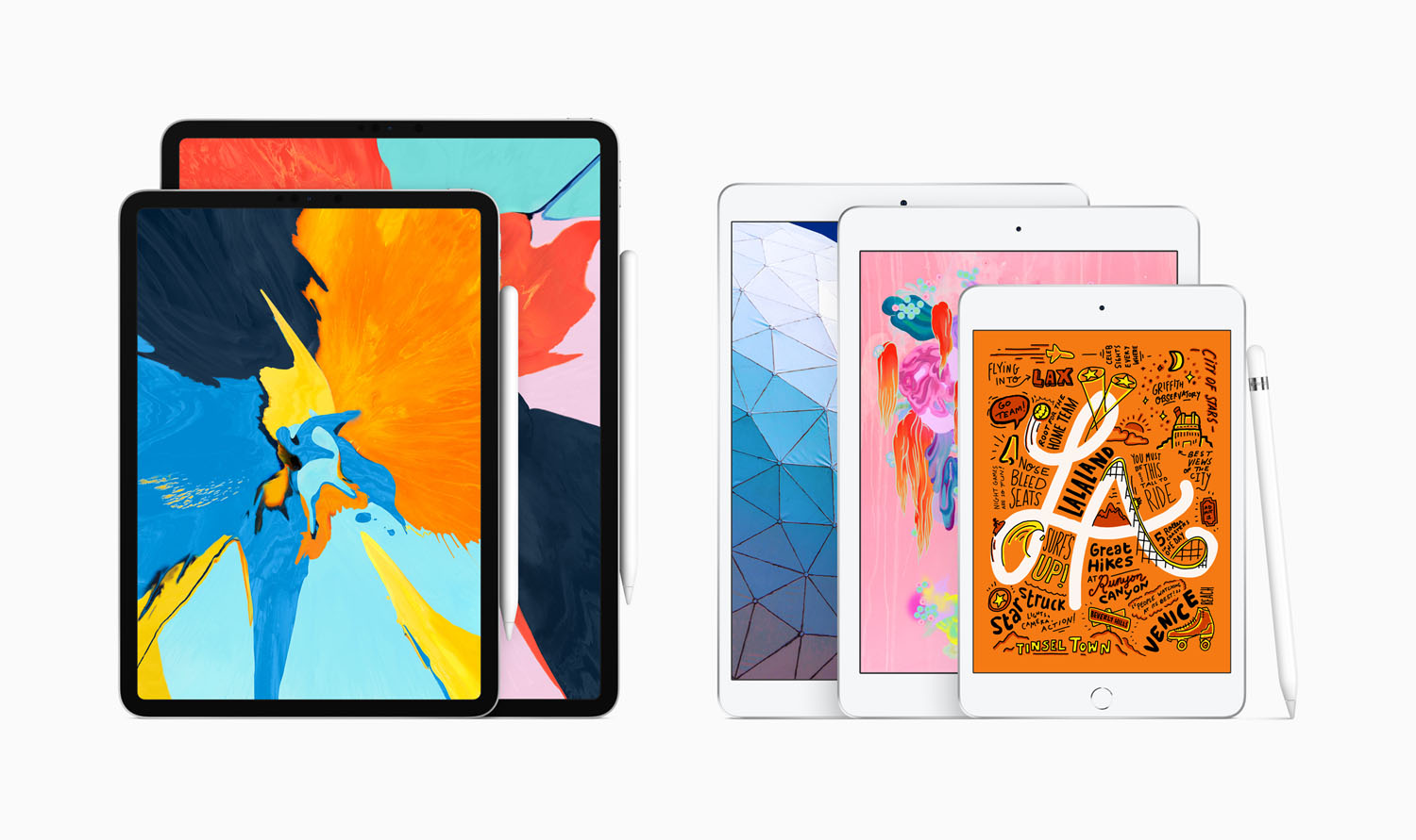 Apple iPad Mini 5 ja Apple iPad Air 2019