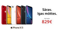 Alati särav Apple iPhone XR on saadaval soodushinnaga alates 829€