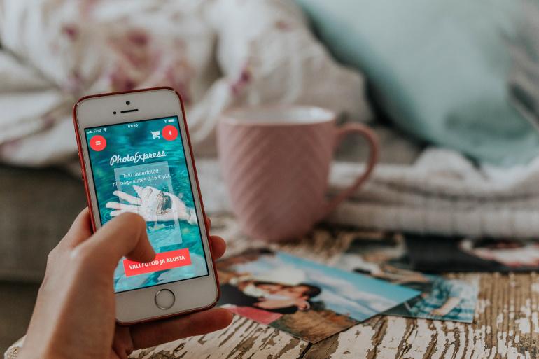 Photopoint PhotoExpress nutirakendus: Telefonist paberile kiiremini ja mugavamalt kui eales varem