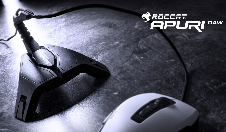 Kuidas Roccat Apuri Raw arvutihiire kasutamist lihtsustab?