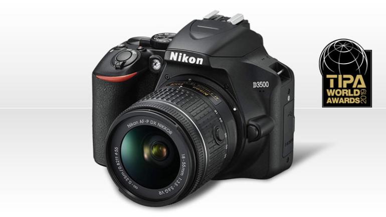Algajatele ideaalne Nikon D3500 pälvis maineka TIPA auhinna