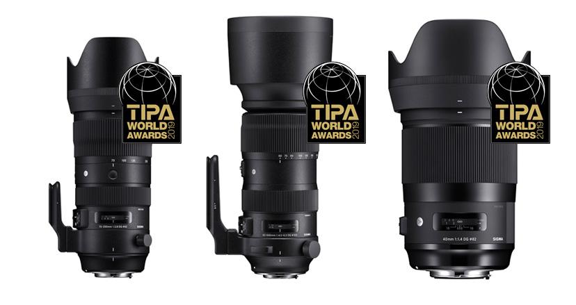 Sigma objektiivid noppisid TIPA auhindade jagamisel kolm esikohta