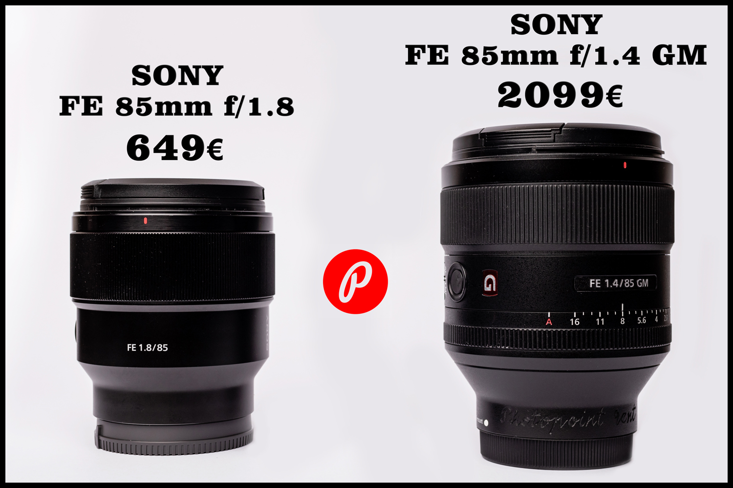 Kas Sony FE 85mm f/1.4 GM on väärt ekstra 1450€?