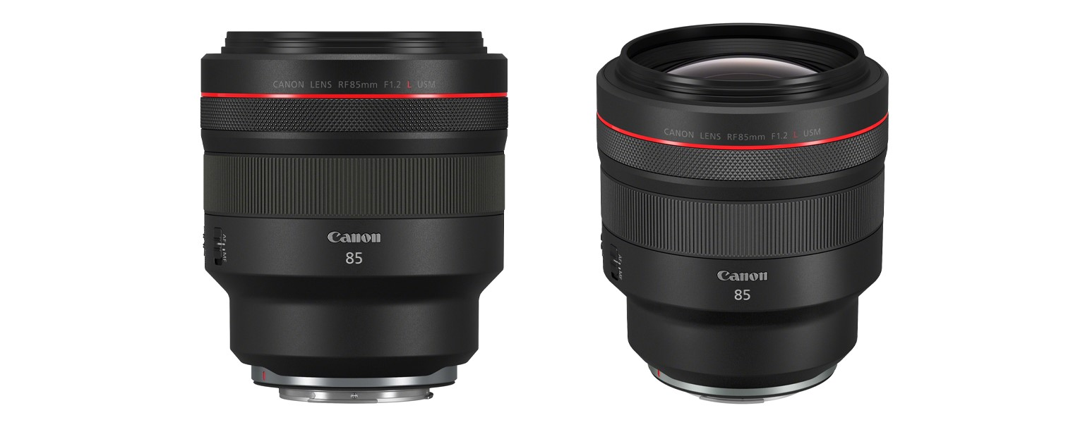 Canon avalikustas uue objektiivi RF 85mm F1.2L USM