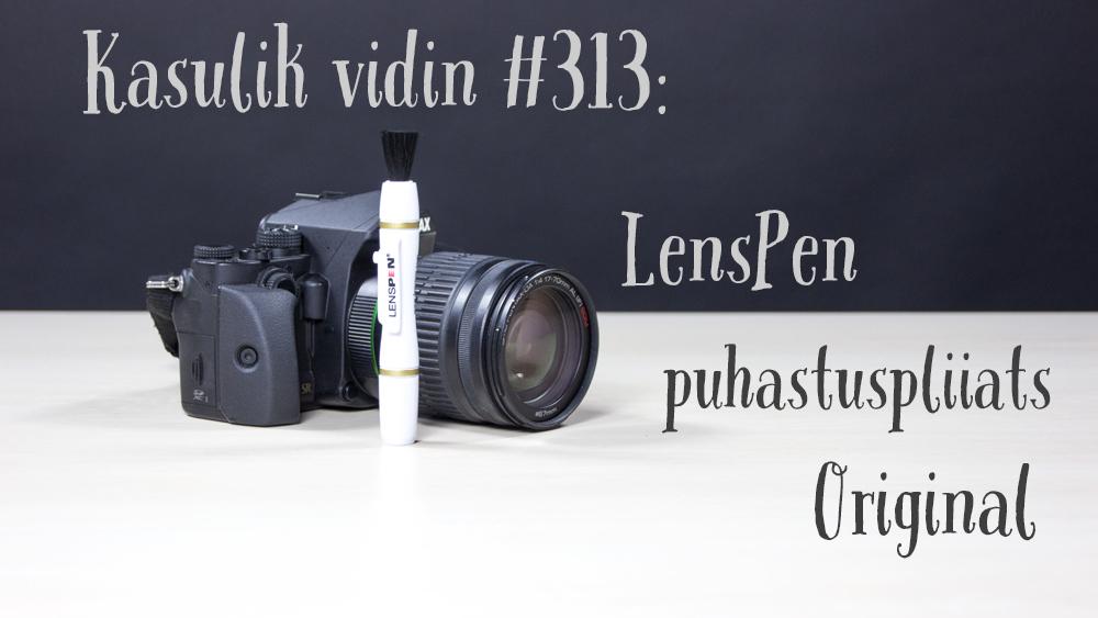 Kasulik vidin #313: LensPen puhastuspliiats Original