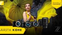 VIIMANE VÕIMALUS: Nikon Z-seeria hübriidkaameratel ja objektiividel on hinnad all
