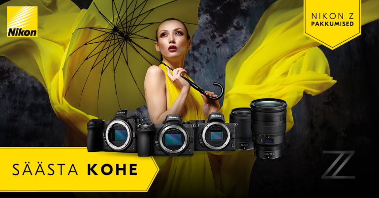 SUVEKAMPAANIA: Nikon Z-seeria hübriidkaameratel ja objektiividel on hinnad all