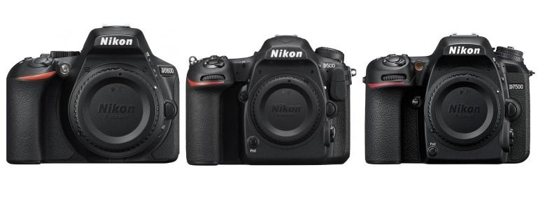 Nikon teatas D7500, D5600 ja D500 peegelkaamerate tarkvara uuendustest
