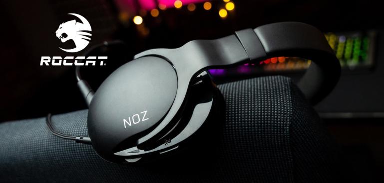 Nüüd saadaval - Roccat Noz mugavad ja ülimalt kerged kõrvaklapid!