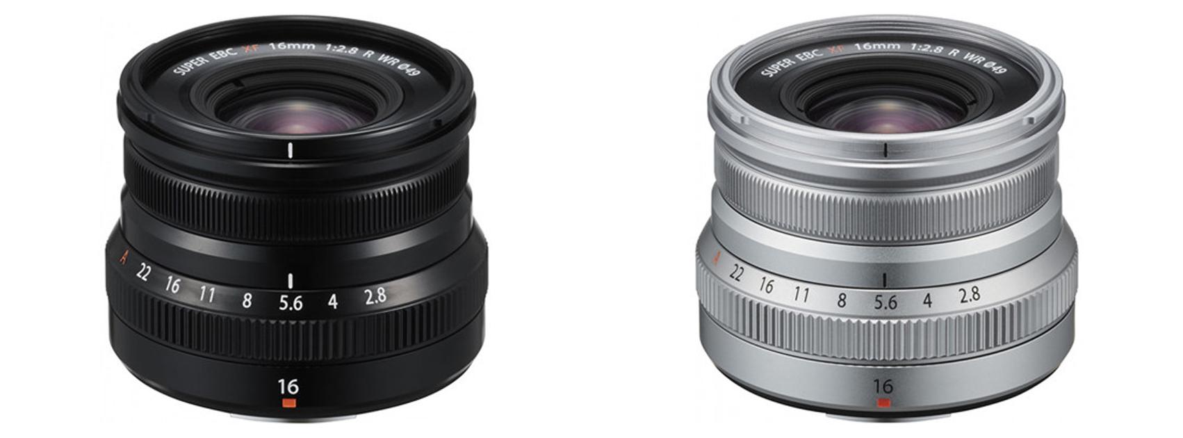 Nüüd saadaval: Fujifilm XF-16mm F2,8 R WR objektiiv X-seeria hübriidkaameratele