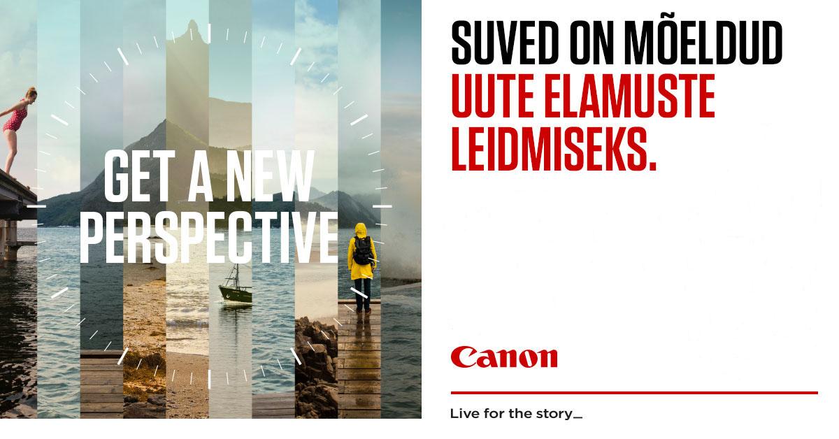 SUVEKAMPAANIA: valitud Canon kaamera ostul saad 299€ suuruse kingituse