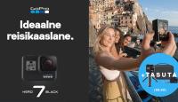 Reisi täiega - GoPro HERO7 Black ostul saad kingituseks Travel komplekti