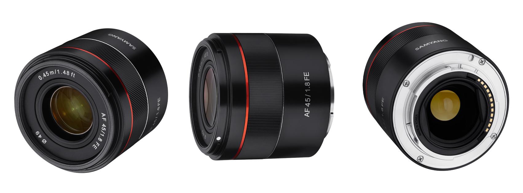 Samyang tutvustab uut objektiivi AF 45mm f/1.8 Sony FE / E kaameratele