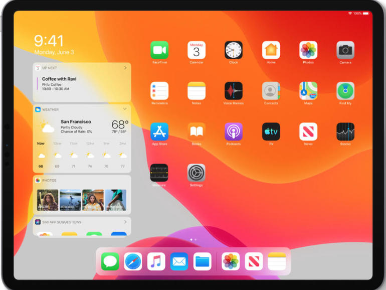 Apple iPad loobub iOS tarkvarast