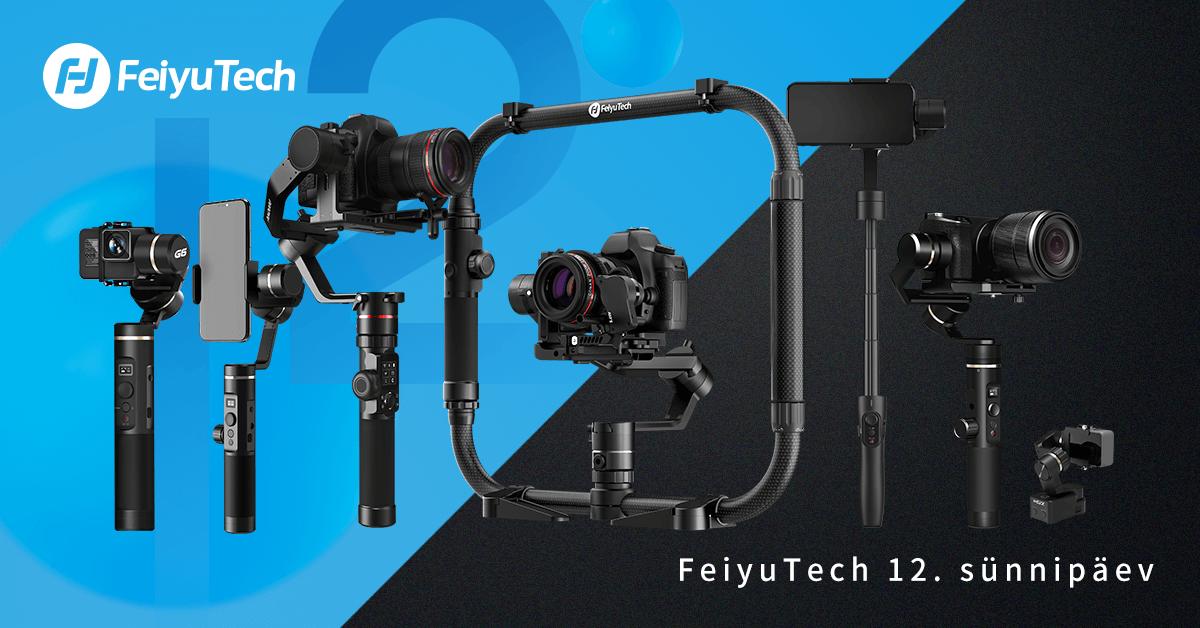 FeiyuTech - bränd, mis on hoidnud juba 12 aastat videograafide kaadrid värinavabad