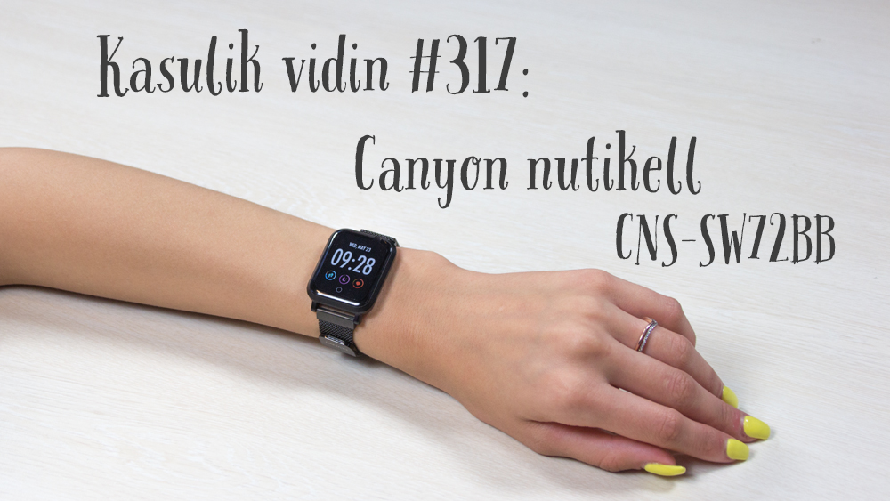 Canyon CNS-SW72BB nutikell