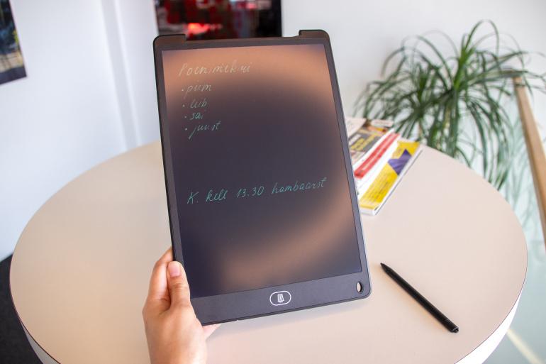 Nüüd saadaval: Platinet 12-tolline LCD kirjutustahvel