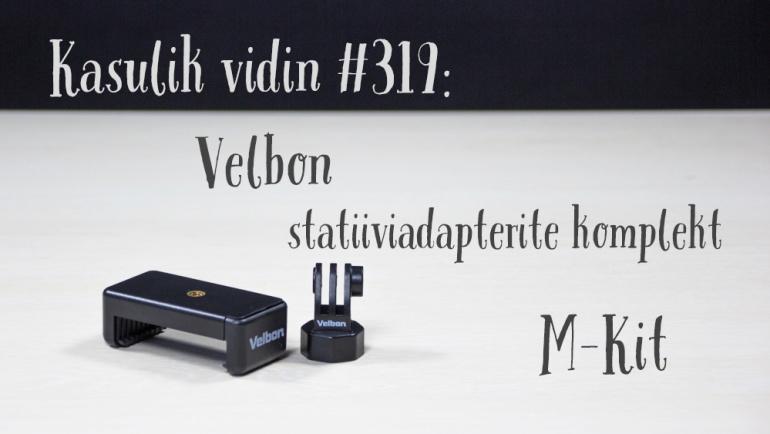 Kasulik vidin #319: Velbon statiiviadapterite komplekt M-Kit